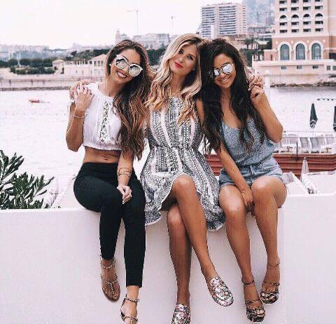 Лучшие друзья в Instagram