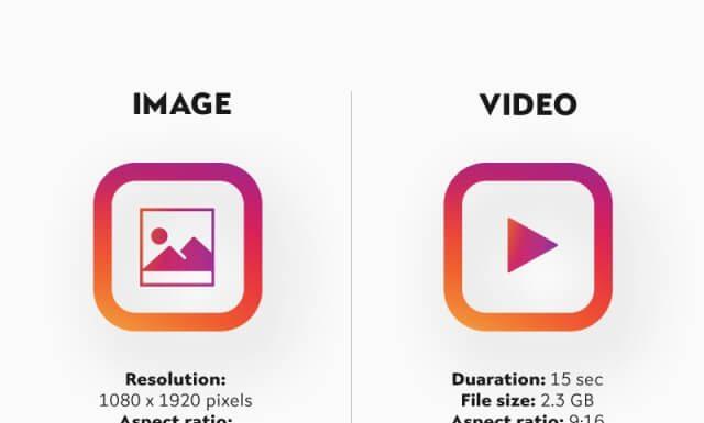 Размер сторис Инстаграм: Видео и фото